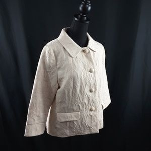 Old Navy Jackets & Coats - Old Navy large cream colored blazer